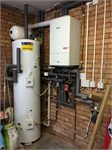 53. Center Store Solar Unvented Cylinder and Worcester Boiler Installation
